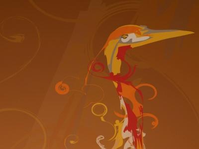 Fond d'écran par défaut de Hardy Heron beta 4