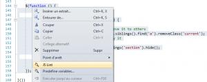 Validation d'une portion de code avec JSLint