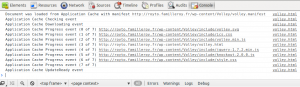 Mise à jour du cache applicatif dans Chrome
