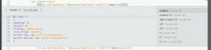 Brackets Edition CSS dans Editeur HTML