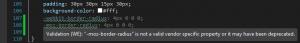 CSS - Préfixes obsolètes